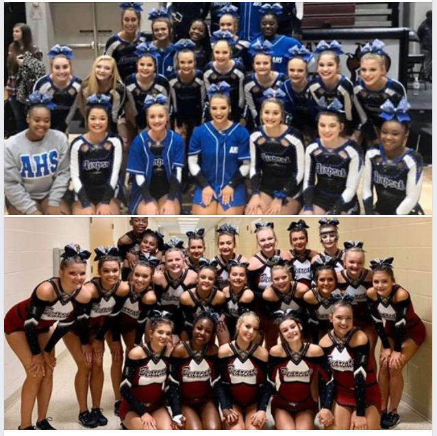 Airport, Brookland-Cayce Cheer Teams compete in State Championships