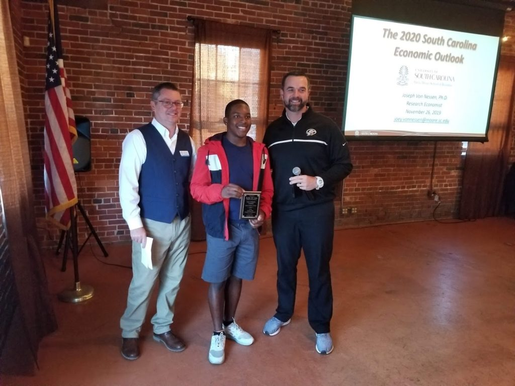 Gray Collegiate's KZ Adams is Chamber's Student-of-the-Month