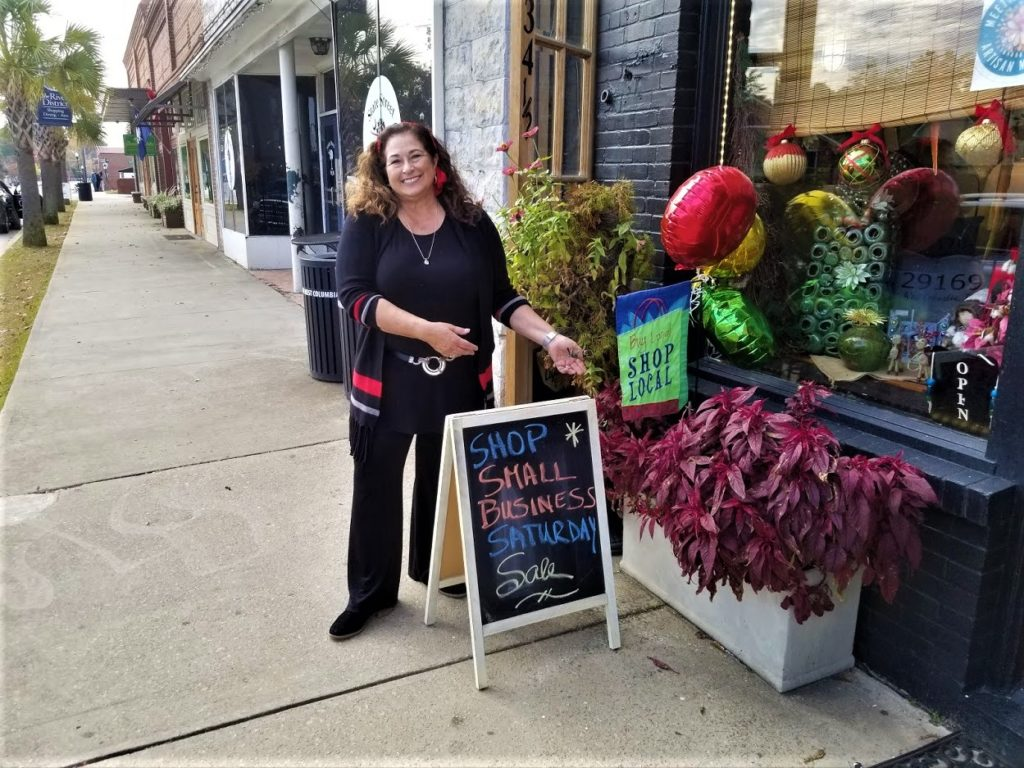 Support West Columbia's small businesses during the holiday shopping season