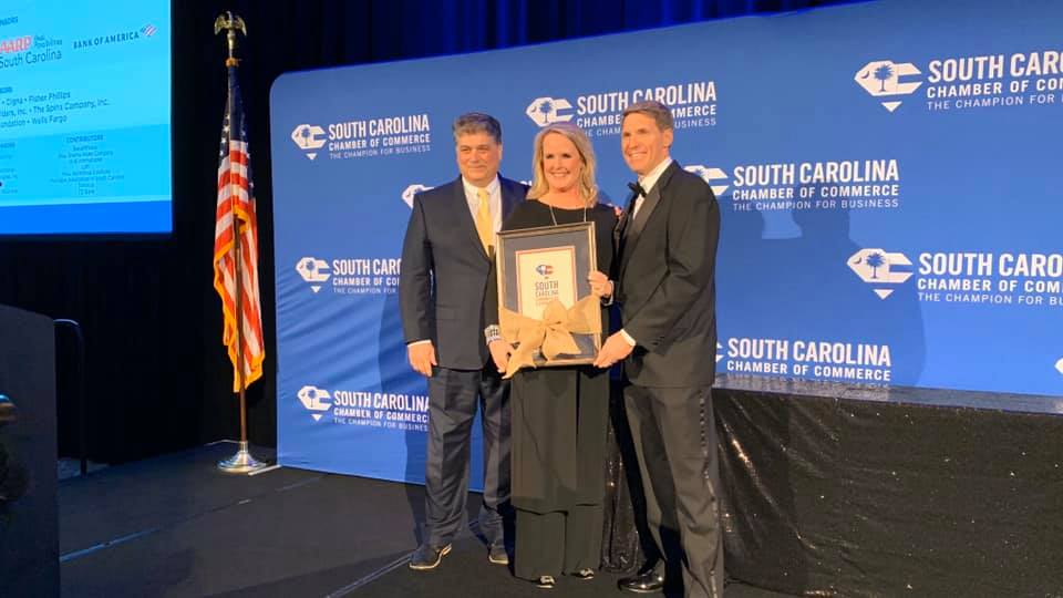 Nephron CEO Lou Kennedy ends her term as S.C. Chamber president
