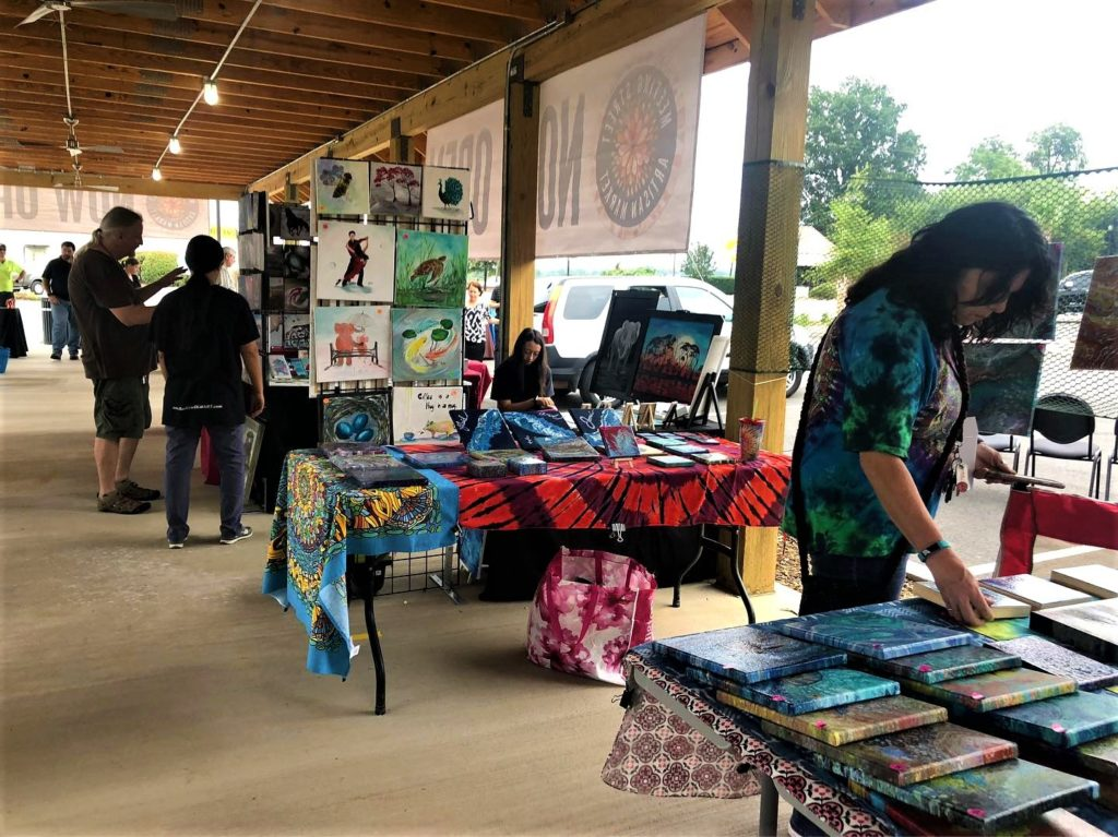 West Columbia Meeting Street Artisan Market has expanded and has new hours