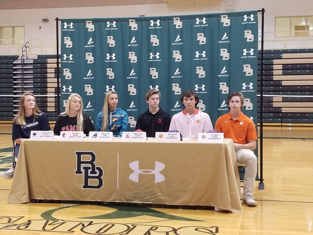 Baseball player with West Columbia ties signs to play baseball at Clemson