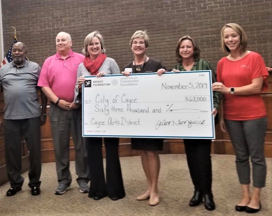 Cayce Arts District gets $63,000 from Knight Foundation