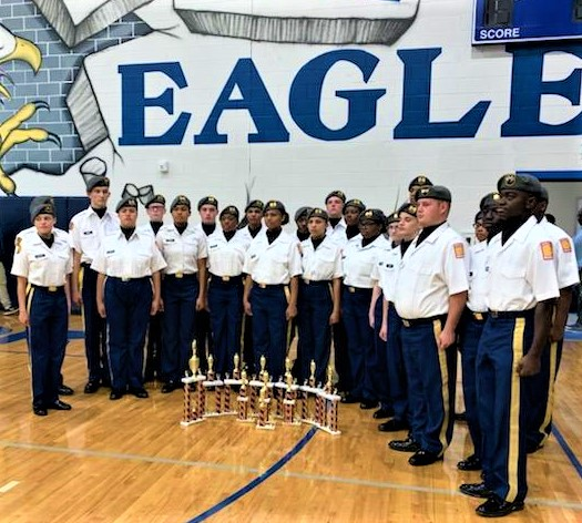 Airport High School JROTC Drill Team wins 10th straight State Championship