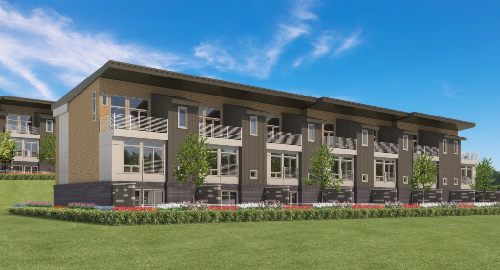 Construction to begin on  Flow 2 townhomes on  West Columbia Riverwalk