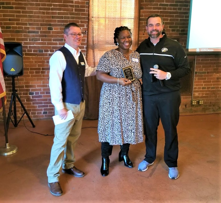Gray Collegiate's Deidra Pompey is the Chamber's Teacher-of-the-Month