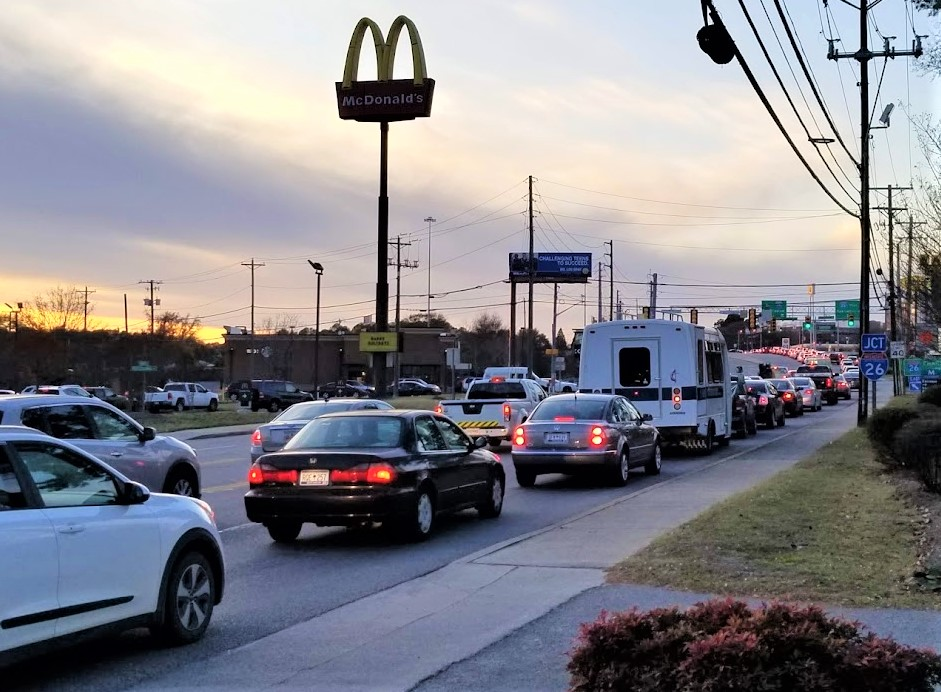 Gas leak results in closing of Sunset Boulevard in West Columbia, Tuesday afternoon
