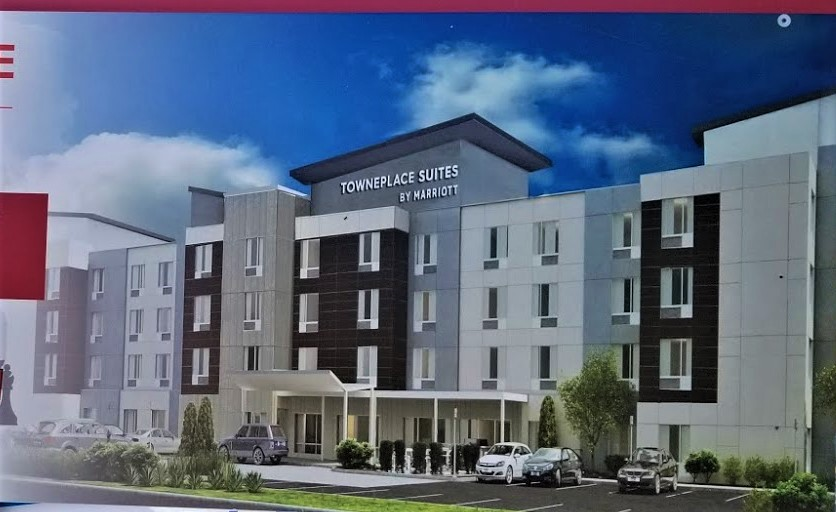 TownPlace Suites being built on Sunset Boulevard, West Columbia