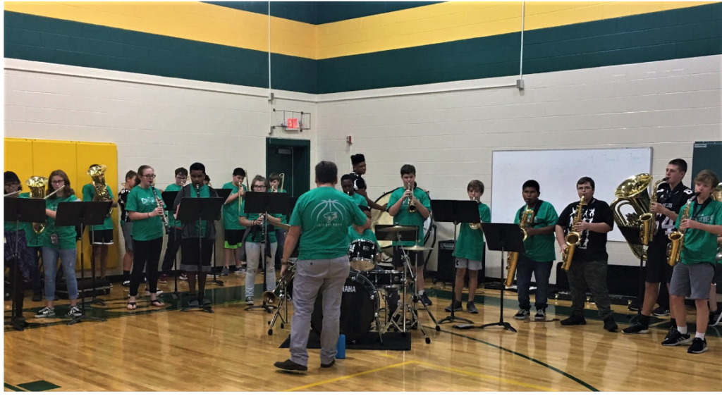 39 middle school students selected for Lexington 2 District Honor Band