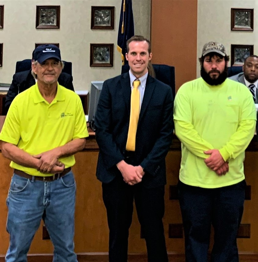 West Columbia City Council recognizes employees for 10 years of service
