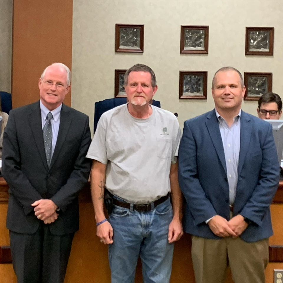 West Columbia City Council recognizes employees for 15 years of service