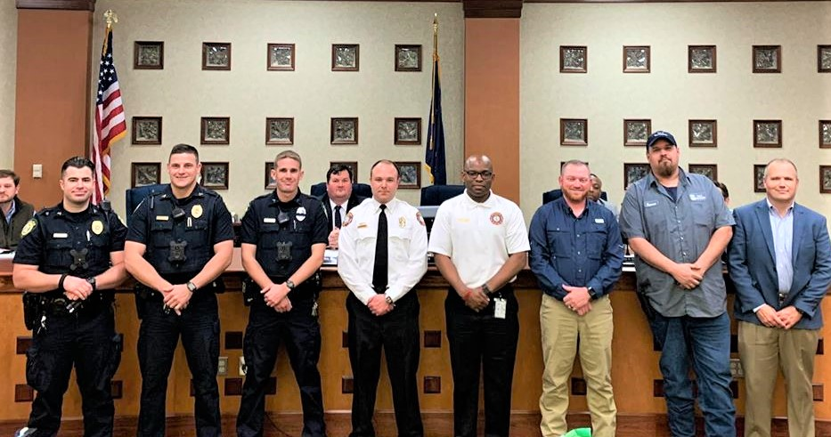 West Columbia City Council recognizes employees for 5 years of service