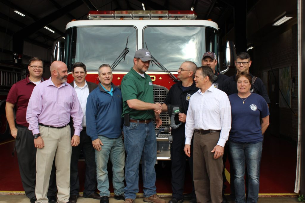 House of Raeford's FLOCK donates hi-tech camera to Batesburg-Leesville Fire Department