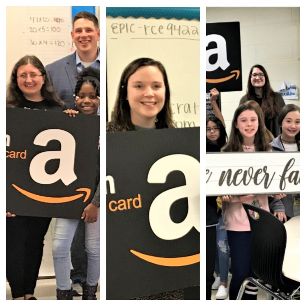 """FLOCK Loves TEACHERS"" Campaign rewards 3 Lexington 2 teachers"