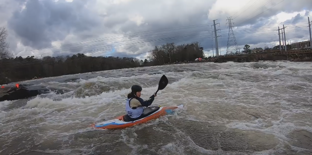 Competitors have perfect day on Saluda River for Millrace Massacre and Iceman Championships