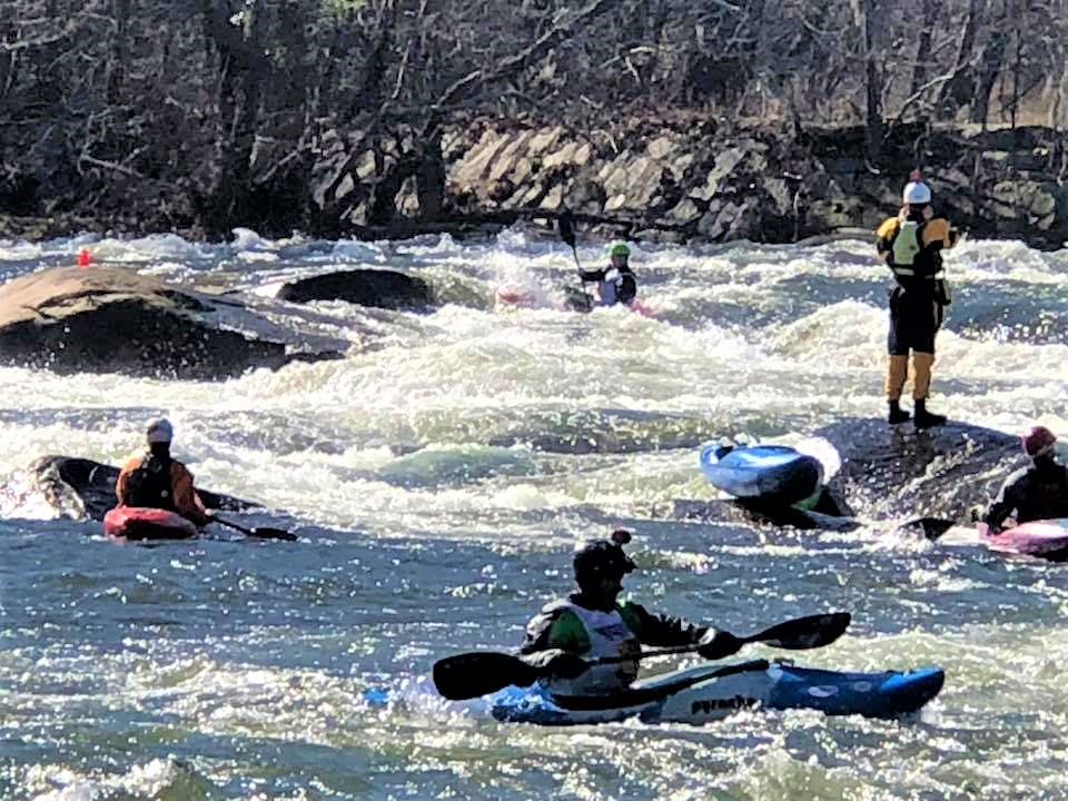 Millrace Massacre and Iceman Championships, Saturday on the Saluda River