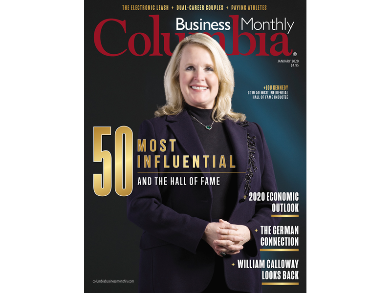 Nephron CEO Lou Kennedy featured on Columbia Business Monthly cover