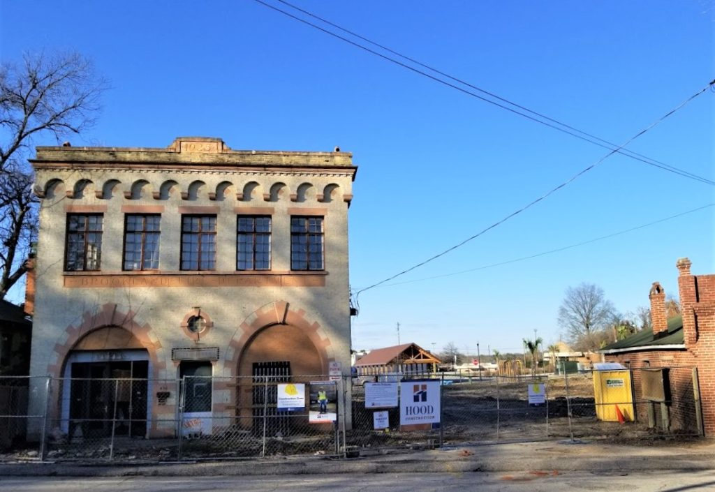 Work started to renovate West Columbia's old City Hall and Fire Station into Savage Craft Ale Works