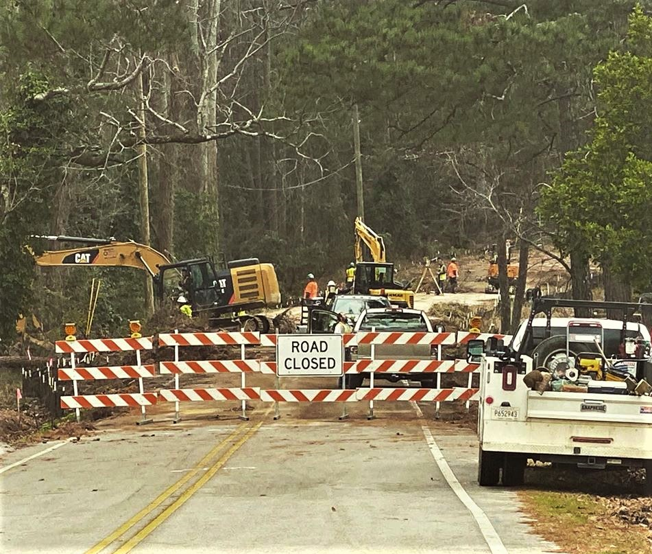 Construction crew begins work to repair Wilton Road in Springdale