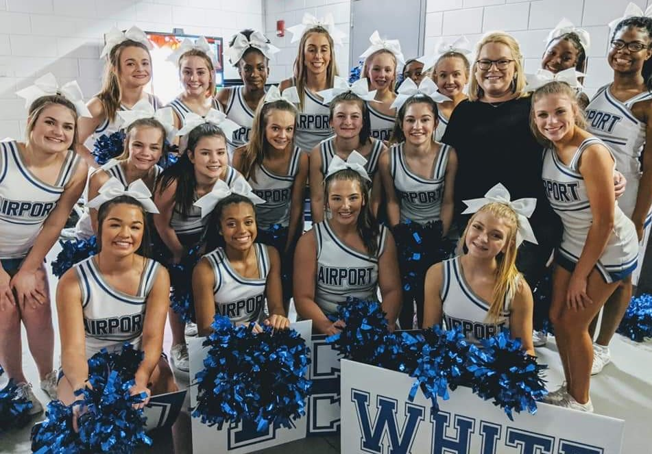 Airport High School's cheerleaders take top spot at Game Day Invitational