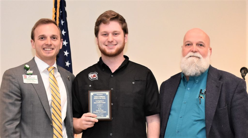 Robert Williams is Chamber's Lexington 2 Student of the Month