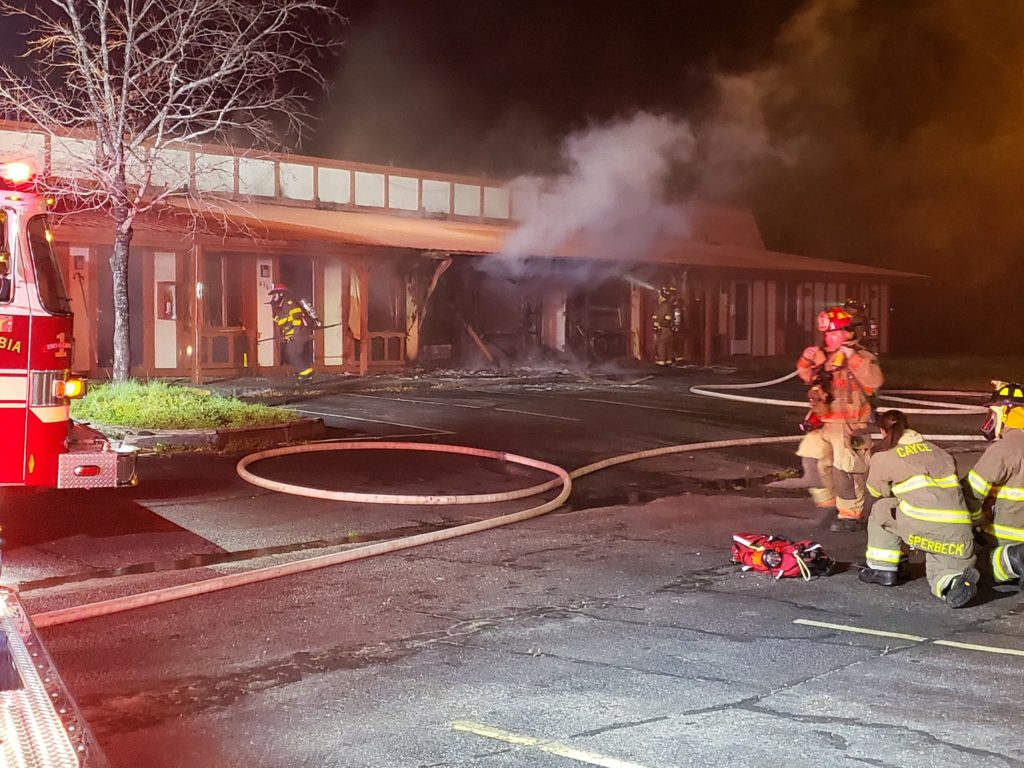 Cayce Department of Public Safety puts out fire at Knights Inn