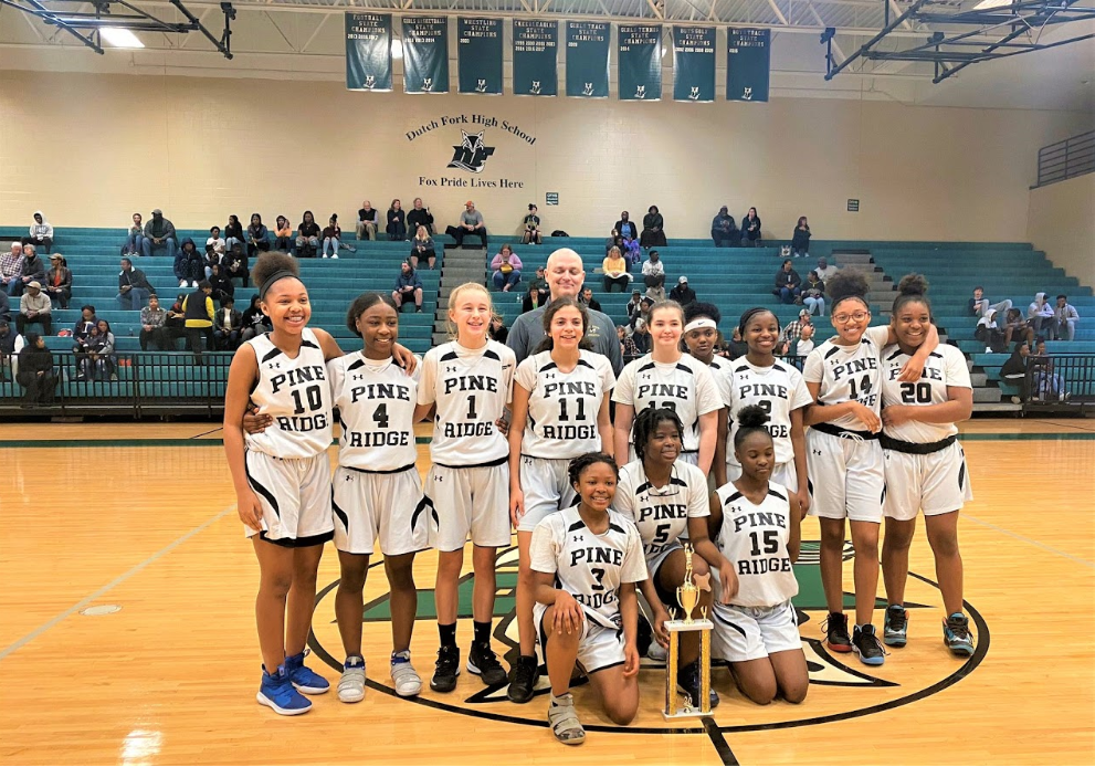 Pine Ridge Middle Girls win PAC Championship, Fulmer Middle places second