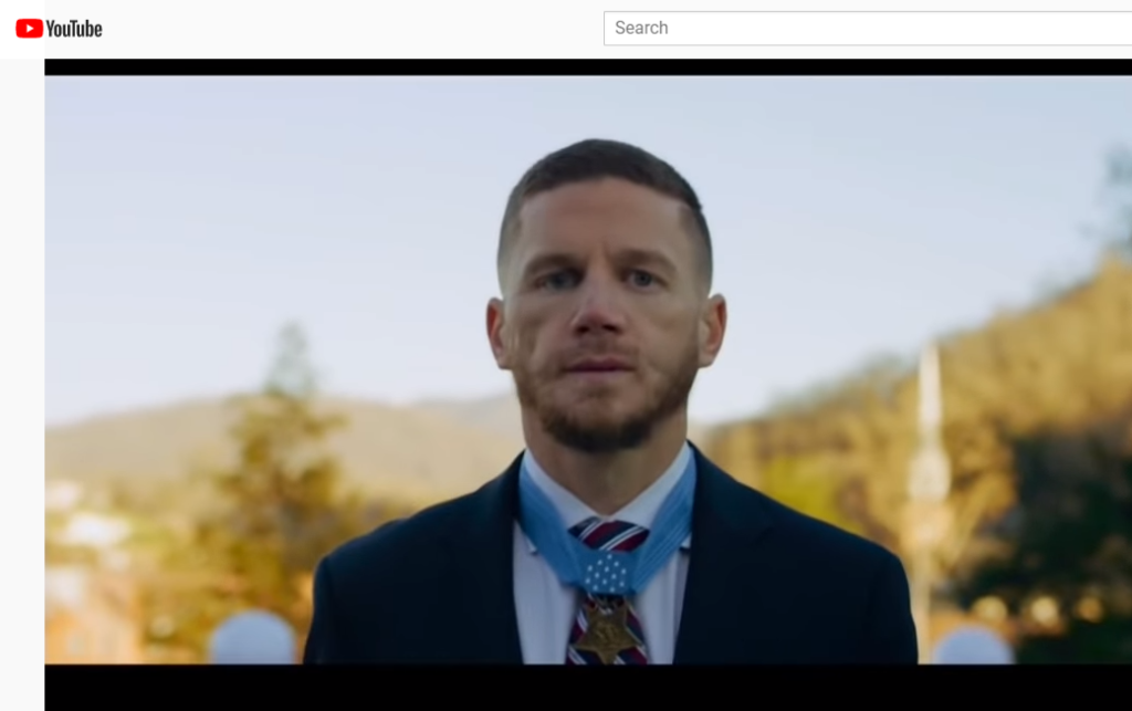 Gilbert's Medal of Honor recipient, Kyle Carpenter, in Super Bowl US Flag tribute video
