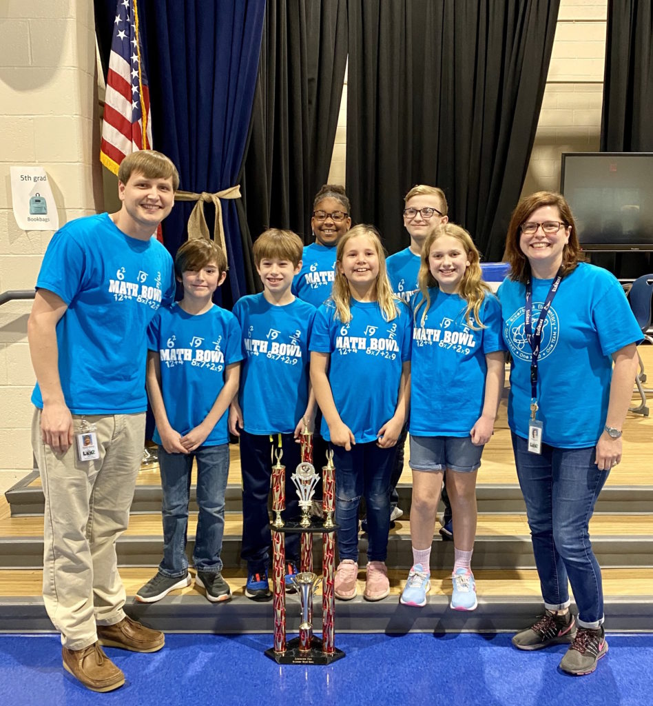 Riverbank Elementary wins  Math Bowl trophy