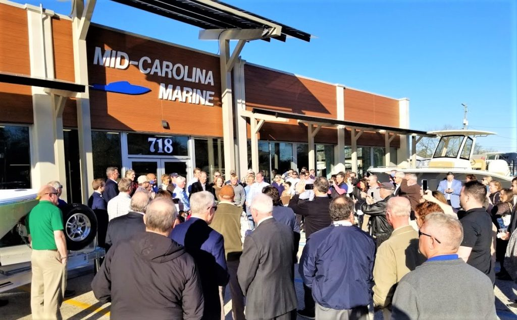 "Mid Carolina Marine has ""Grand Reopening"" on Sunset Boulevard, West Columbia"