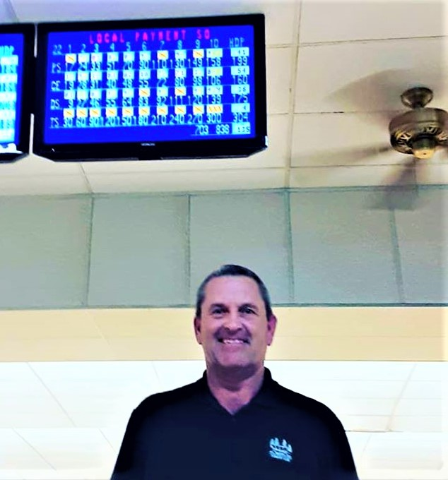 Terry Spires bowls perfect game in Chamber bowling league