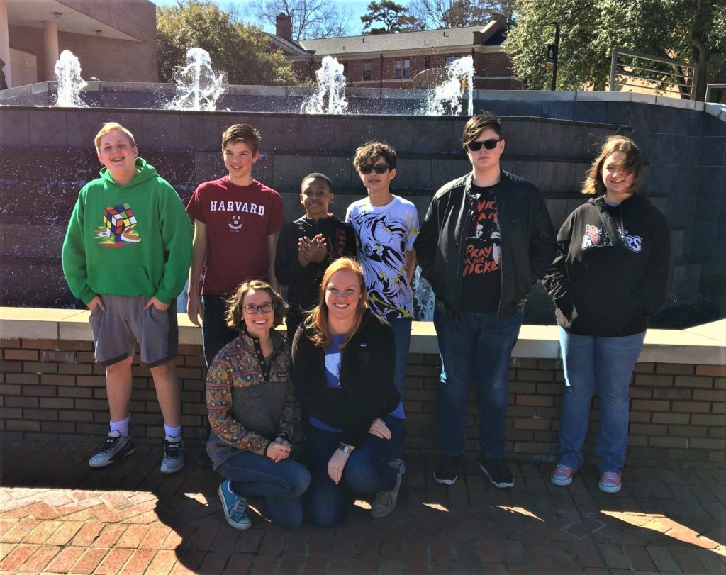 Fulmer Middle School Quiz Bowl team wins