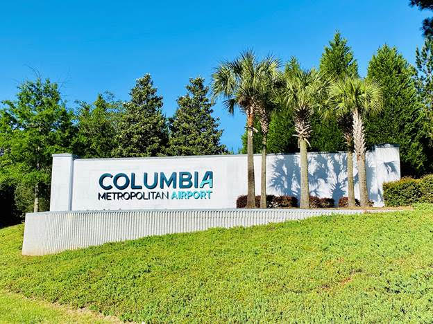 Colite International, Up Fits Columbia Metropolitan Airport Welcome Sign