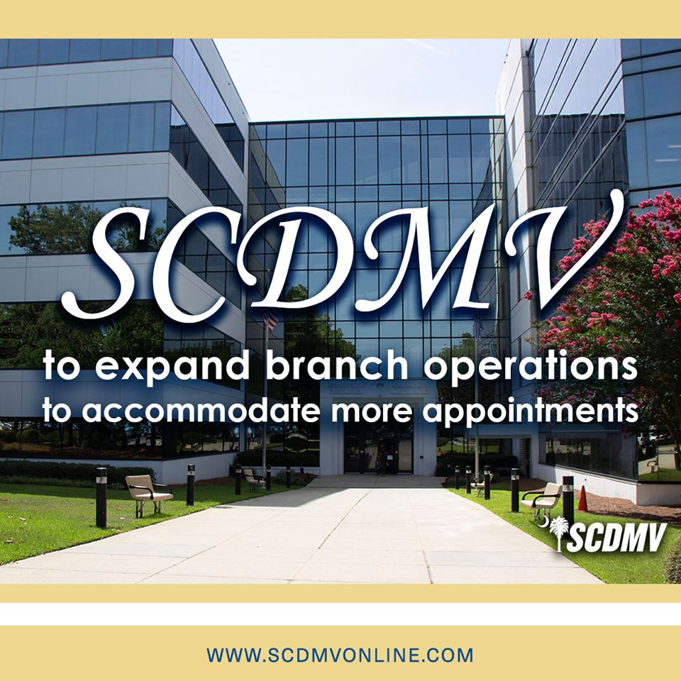 66 SC DMV offices to reopen Monday, May 4