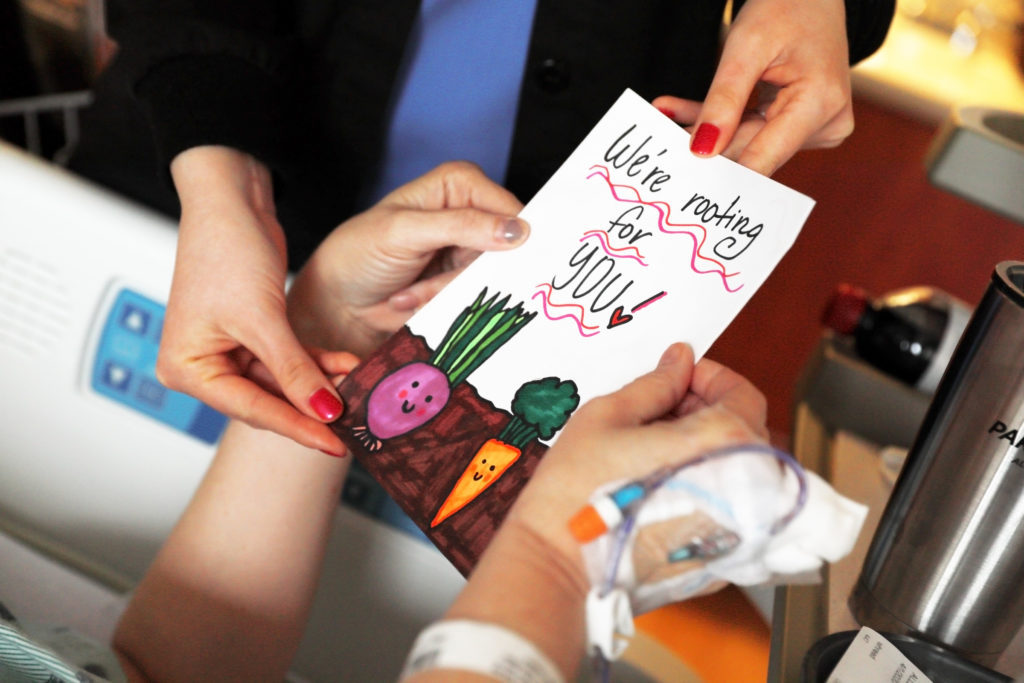 Lexington Medical Center Collecting Cards for Patients during COVID-19 crisis