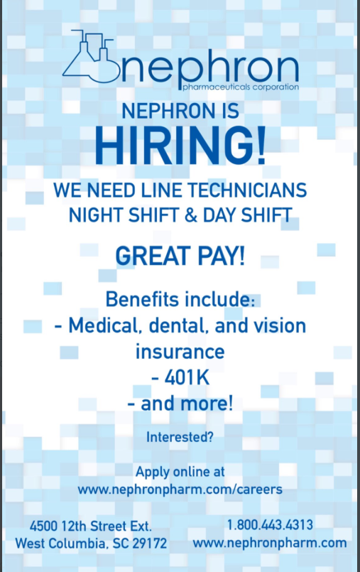 Nephron is hiring