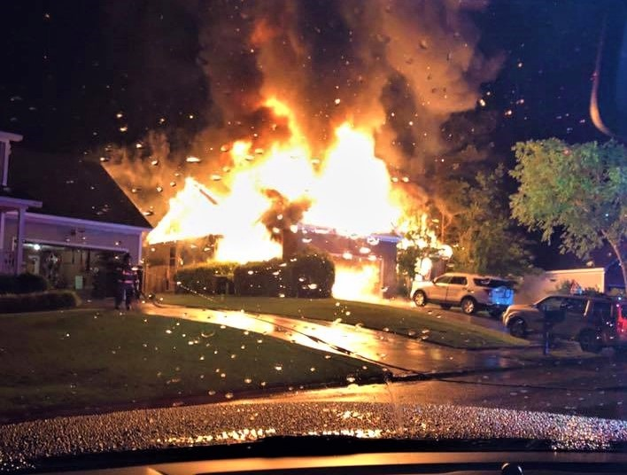 4 displaced by Lexington County fire
