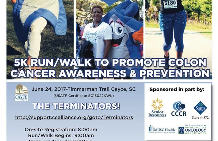 Cayce 5k Run Walk For Colon Cancer Prevention Is June 24 Westmetronews